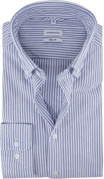 Seidensticker Hemd RF Streifen Blau