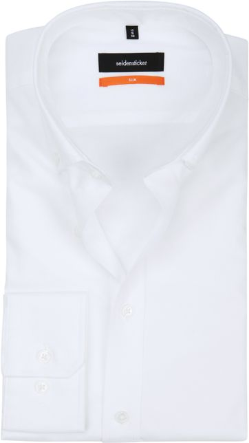 Seidensticker Hemd SF Button Down Weiss