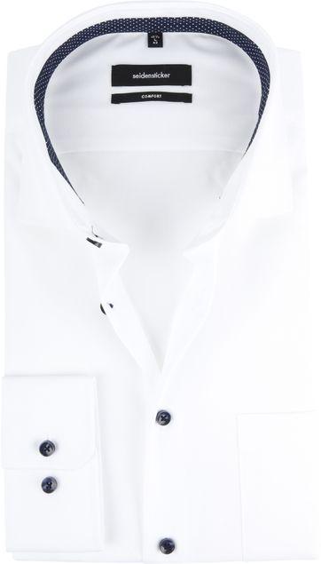 Seidensticker Hemd Weiß CF