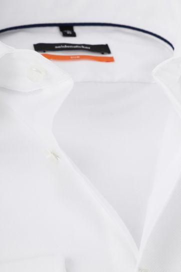 Seidensticker Hemd Weiß Slim-Fit