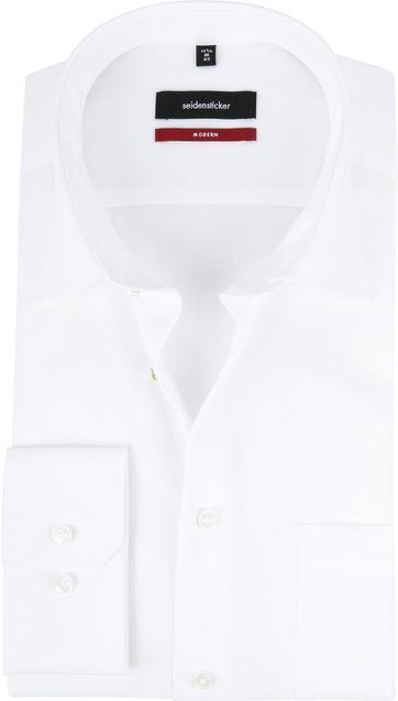 Seidensticker Hemd Wit