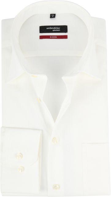 Seidensticker Hochzeit Hemd Ecru
