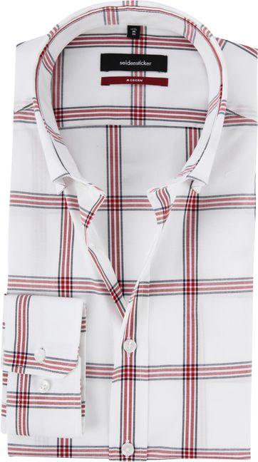 Seidensticker MF Hemd Fenster Weiß