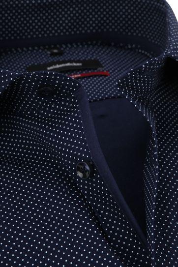 Seidensticker Modern-Fit Overhemd Navy