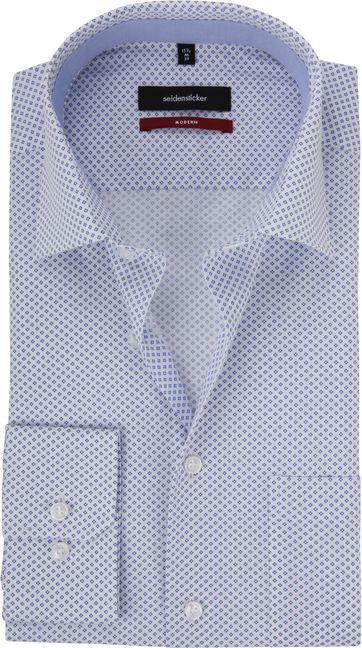 Seidensticker Modern-Fit Overhemd Wit