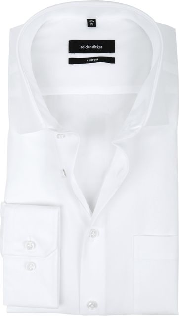 Seidensticker Non Iron Comfort-Fit White