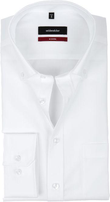 Seidensticker Non Iron Modern-Fit White BD