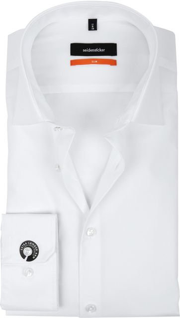 Seidensticker Non Iron White Slim-Fit S7
