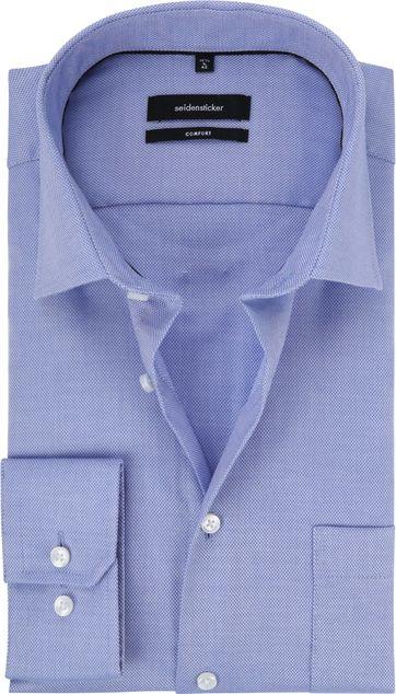 Seidensticker Overhemd CF Blauw