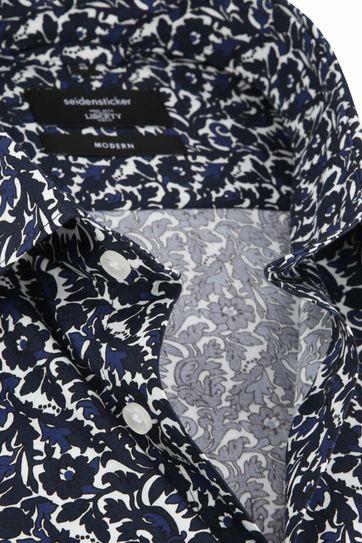 Seidensticker Overhemd MF Bloem