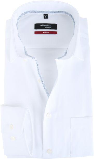 Seidensticker Overhemd Modern Fit Wit