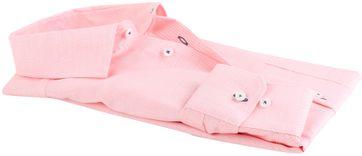 Detail Seidensticker Overhemd Modern Fit Zalm