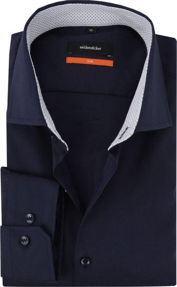 Seidensticker Overhemd Navy SF