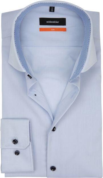 Seidensticker Overhemd SF Blauw CAW