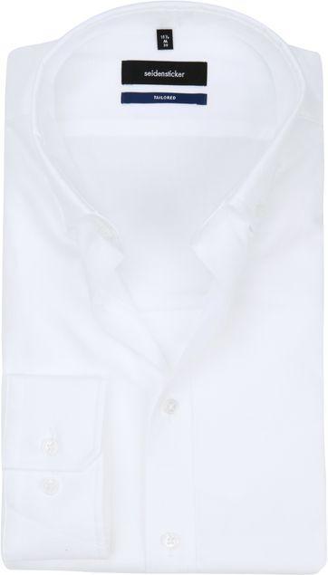 Seidensticker Overhemd SF Button Down Wit