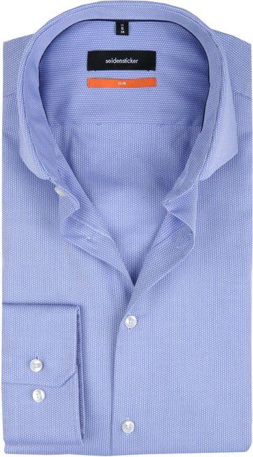 Seidensticker Overhemd SF Herring Blue