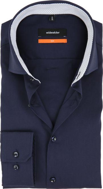 Seidensticker Overhemd SF Navy