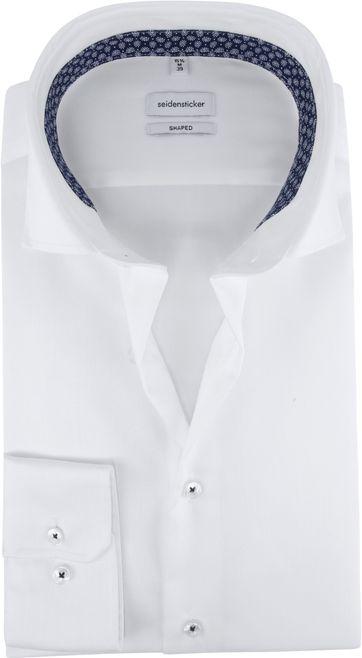 Seidensticker Overhemd Shaped-Fit Wit