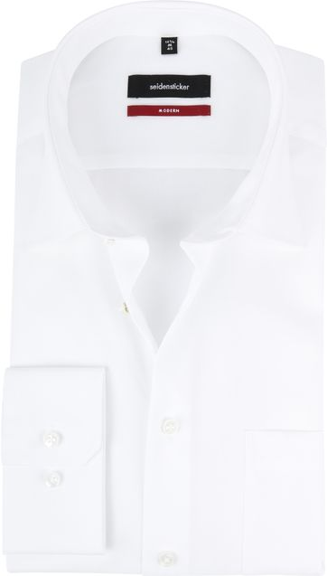 bd7272bb6a0 ... widget Seidensticker Overhemd Wit