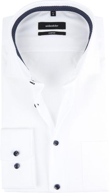 Seidensticker Overhemd Wit CF