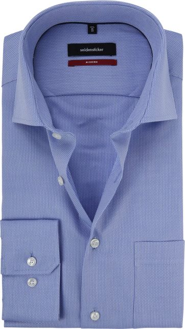Seidensticker Shirt Blue Modern-Fit