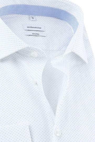 Seidensticker Shirt Dots White
