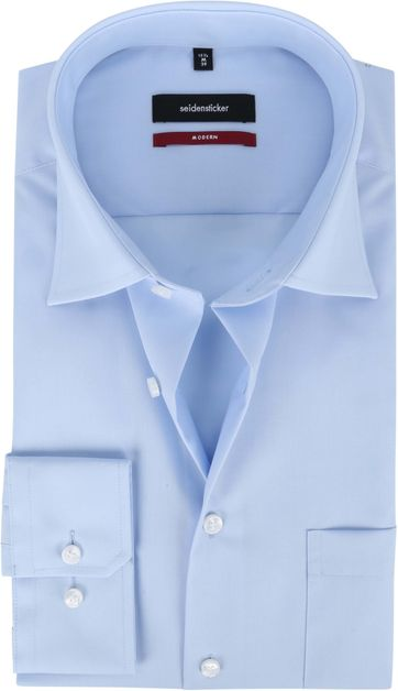 Seidensticker Shirt MF Light Blue