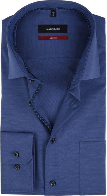 Seidensticker Shirt MF Navy