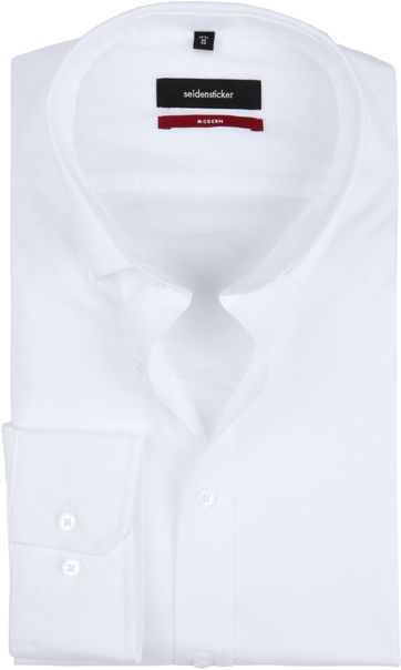 Seidensticker Shirt MF White