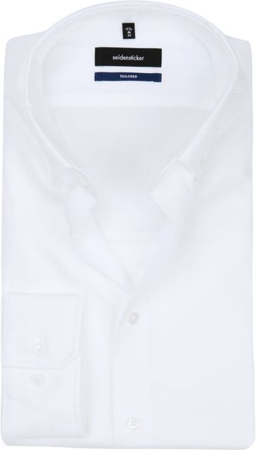 Seidensticker Shirt SF Button Down White