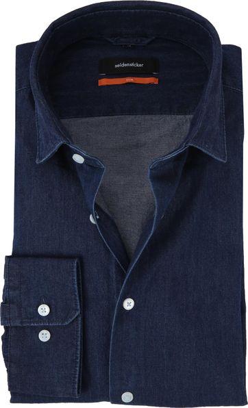 Seidensticker Shirt SF Denim Navy