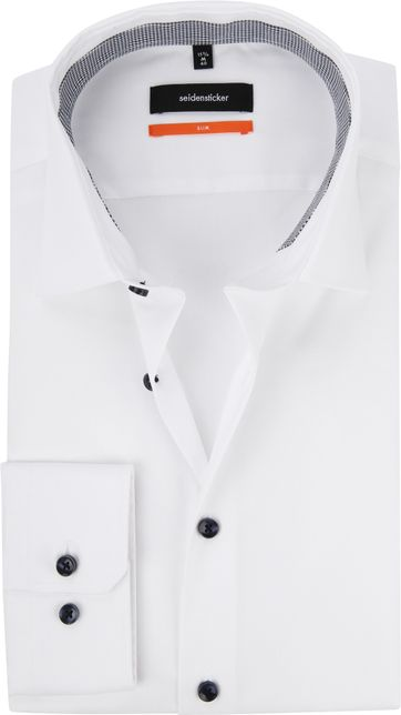 Seidensticker Shirt Slim White