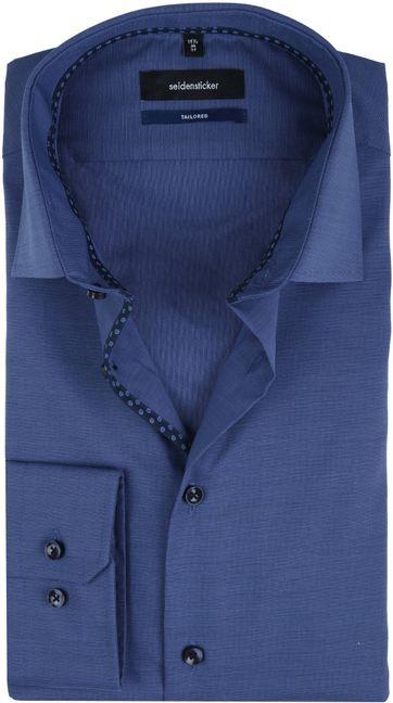 Seidensticker Shirt TF Navy
