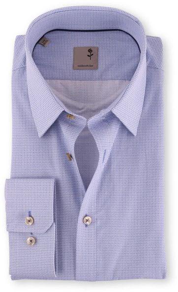 Seidensticker Slim Fit Overhemd Blue Print