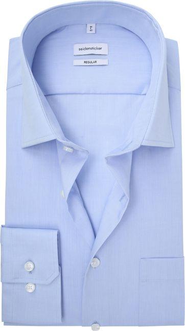 Seidensticker Splendesto Hemd Licht Blauw