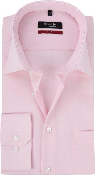Seidensticker Splendesto Hemd Roze