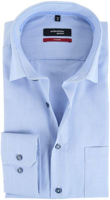 Seidensticker Strijkvrij Overhemd Dessin