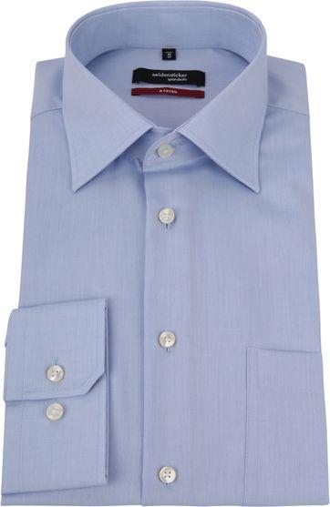 Seidensticker Strijkvrij Overhemd Lichtblauw