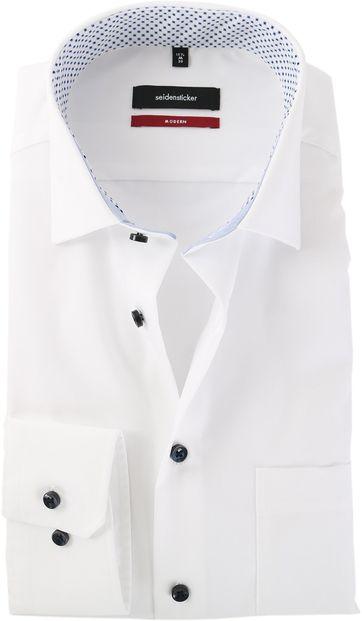 Seidensticker Strijkvrij Overhemd Wit
