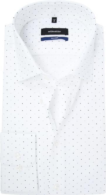 Seidensticker TF Hemd Weiße Punkte