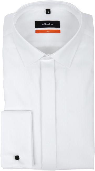 Seidensticker Tuxedo Shirt Kent White