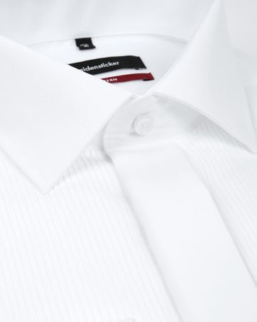 Seidensticker Tuxedo Shirt Plisse Kent MF