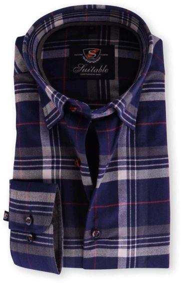 Shirt Slim Fit Checkered Flannel 121-5