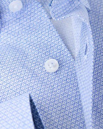Shirt Suitable S2-1 Wit Blauw Print