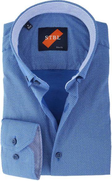 Shirt Suitable S2-2 Blau Weiss Drucken