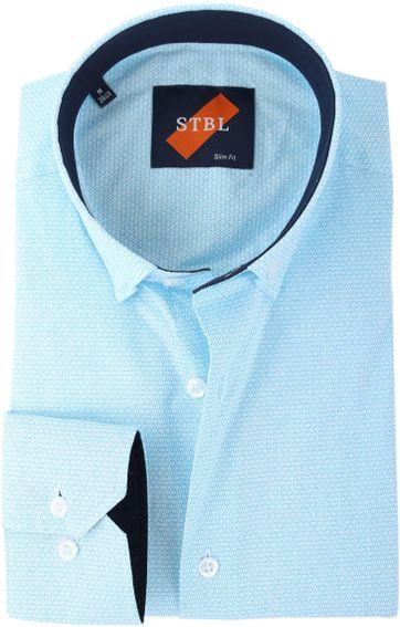 Shirt Suitable S2-3 Hellblau Weiss