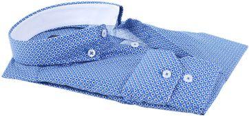 Detail Shirt Suitable S2-5 Blauw Wit