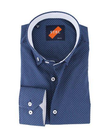 Shirt Suitable S2-7 Blauw Groen