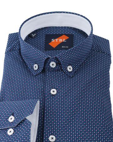 Detail Shirt Suitable S2-7 Blauw Groen
