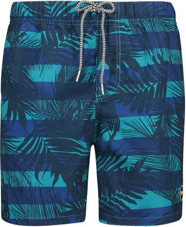 Shiwi Badeshorts Jungle Blau